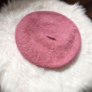 Vintage Kangol wool angora beret